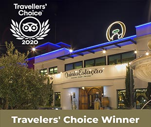 Vencedor do Travellers 'Choice 2020