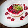 Cheese Cake Red Fruits